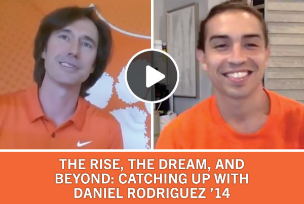 The Rise, The Dream and Beyond: Catching up with Daniel Rodriguez '14
