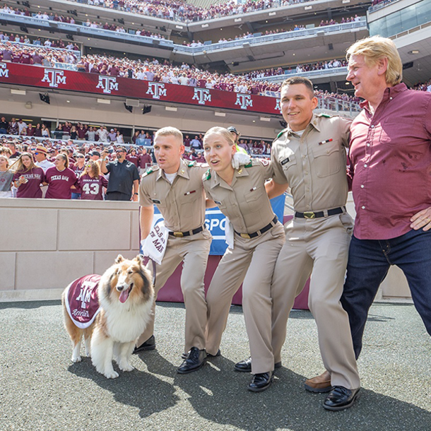 Geography Student And Mascot Corporal Joins Reveille IX On Disney+ Show