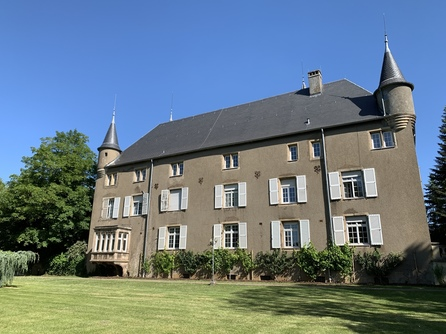 Side of the Château from the garden