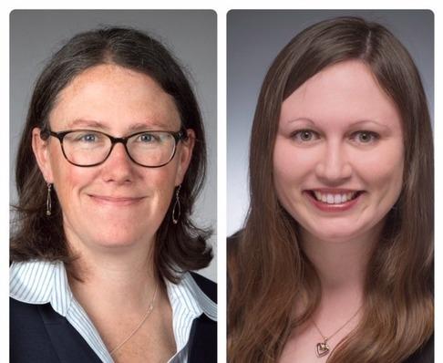 Photos of Meghan E. Sullivan and Amy L. Stark.