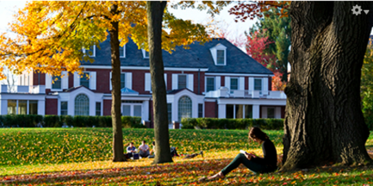 Students on the President's Lawn
