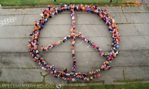 Ordway Playground Peace Sign