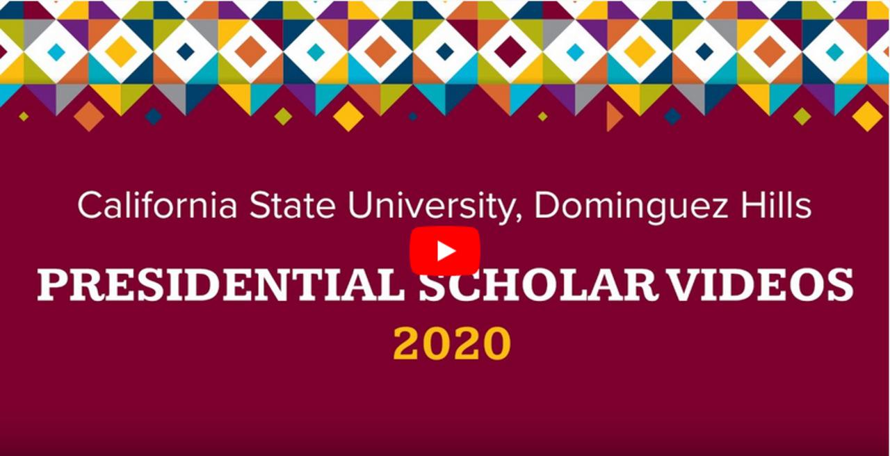 Senior Class of 2020 Presidential Scholars
