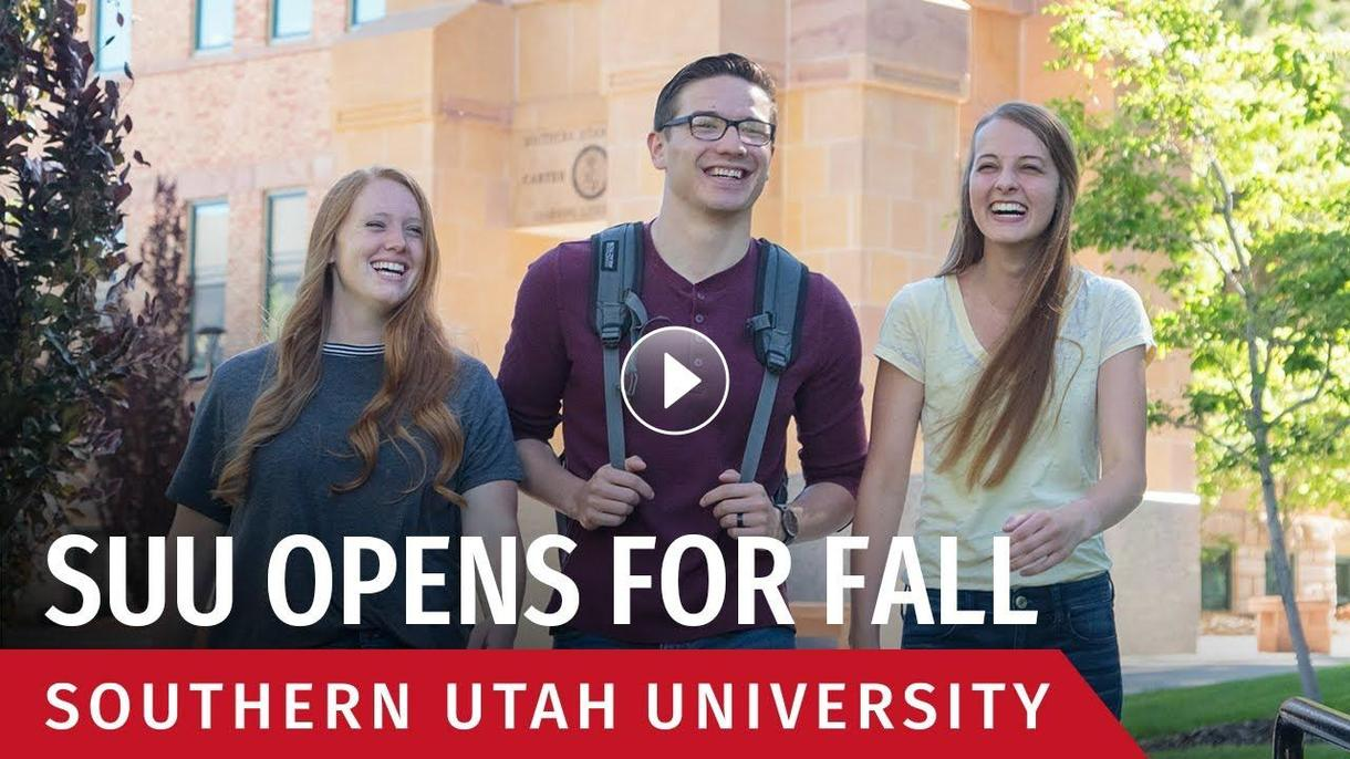 SUU Opens for Fall Semester
