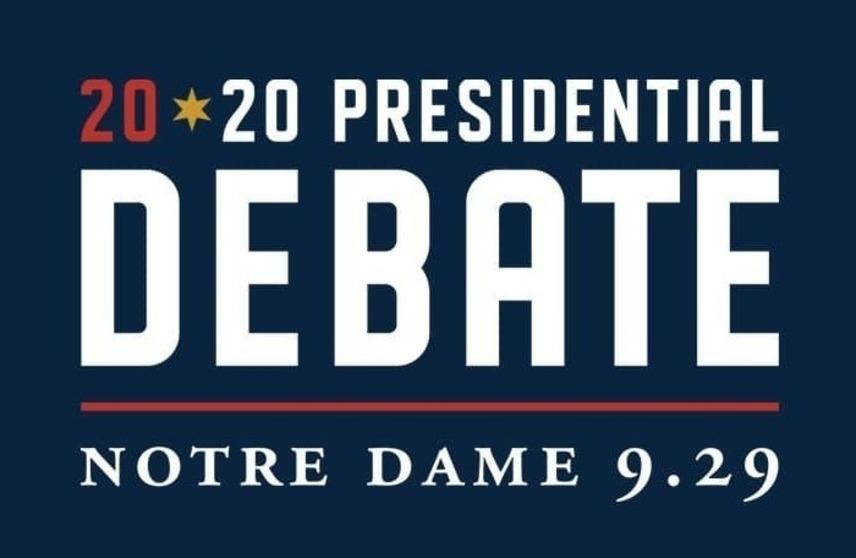 2020 US Presidential Debate, Notre Dame, September 29