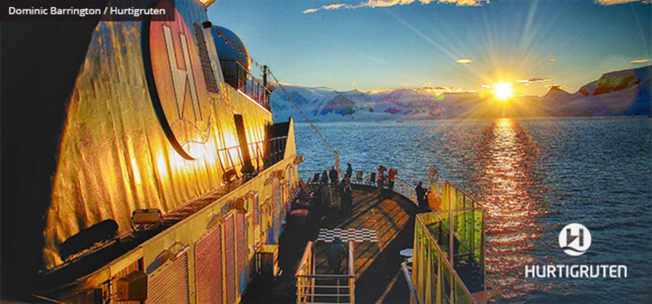 Hurtigruten view from deck