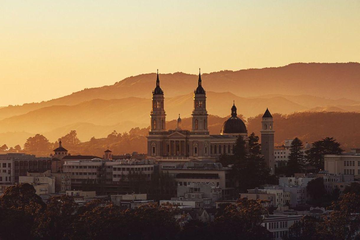 St. Ignatius at sunset