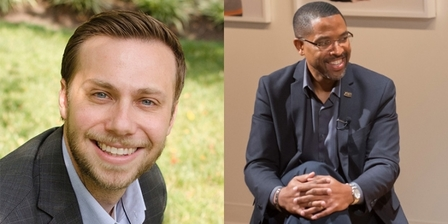 Photos - Rabbi Michael Rose Knopf & Dr. Corey D. B. Walker