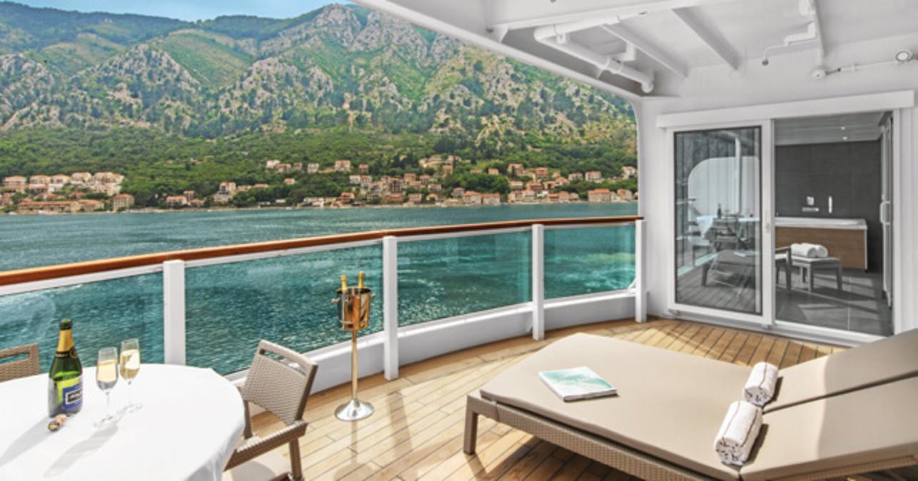 Seabourn Ovation Balcony