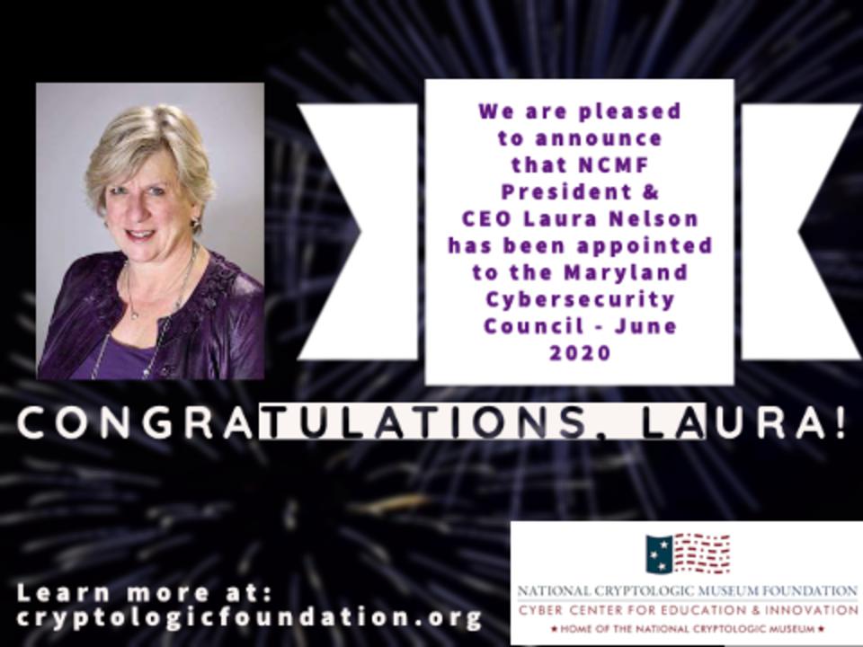 Congratulations Laura