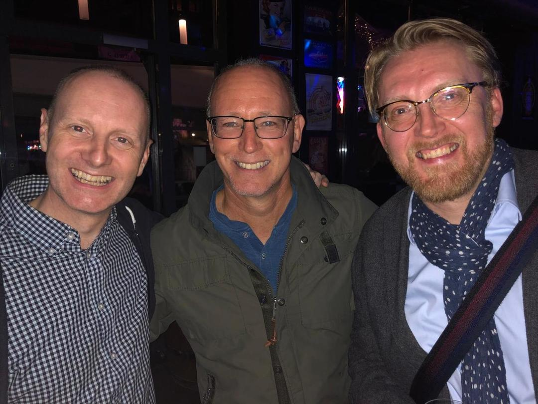 Neill Henderson, Andy Adams and unknown