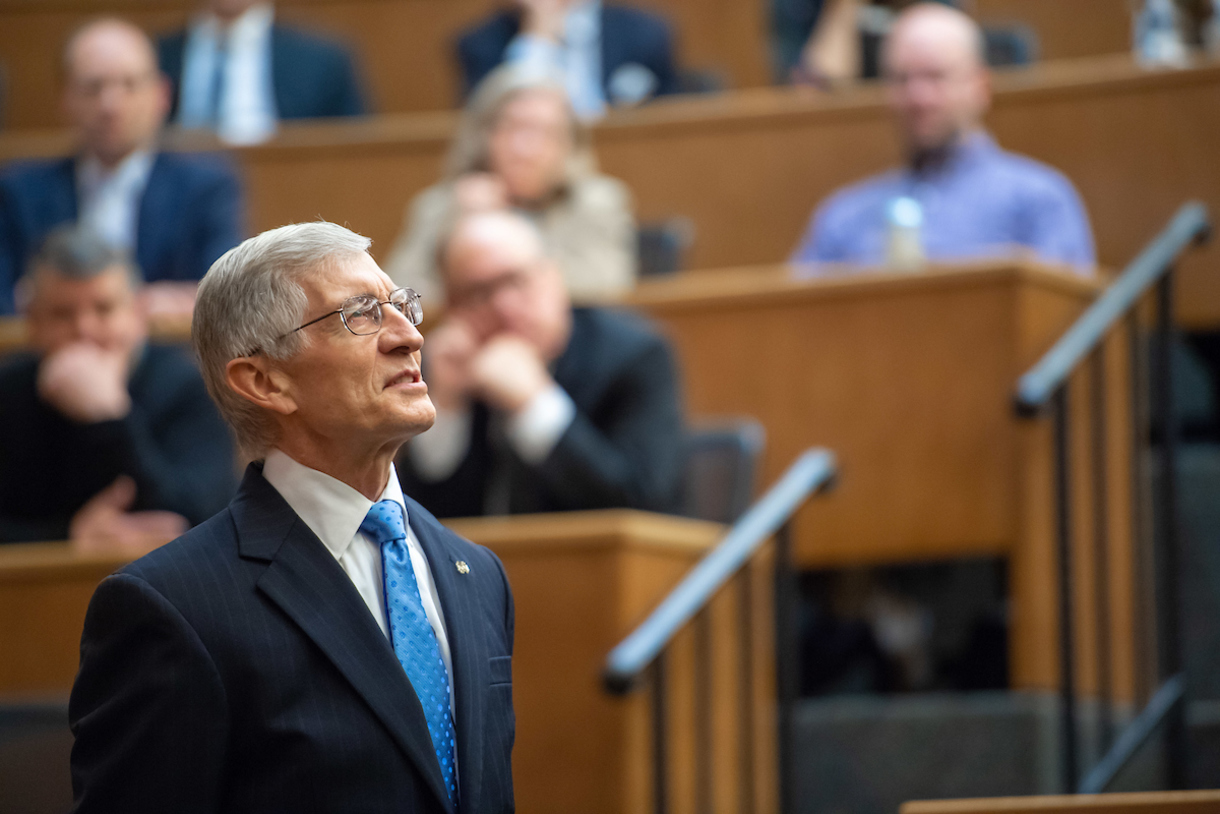 Thomas G. Burish, the Charles and Jill Fischer Provost at Notre Dame, will finish his 15-year term on July 1.