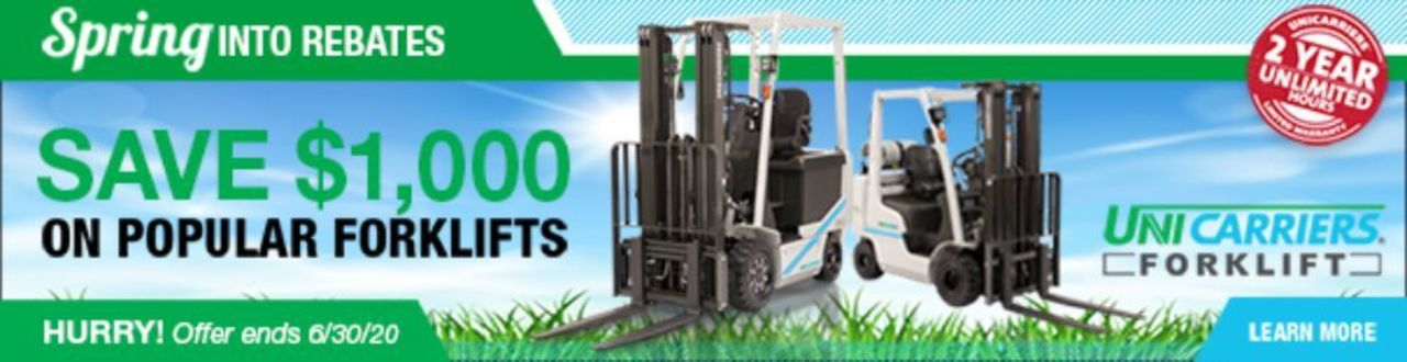 UniCarriers Spriing Promotion