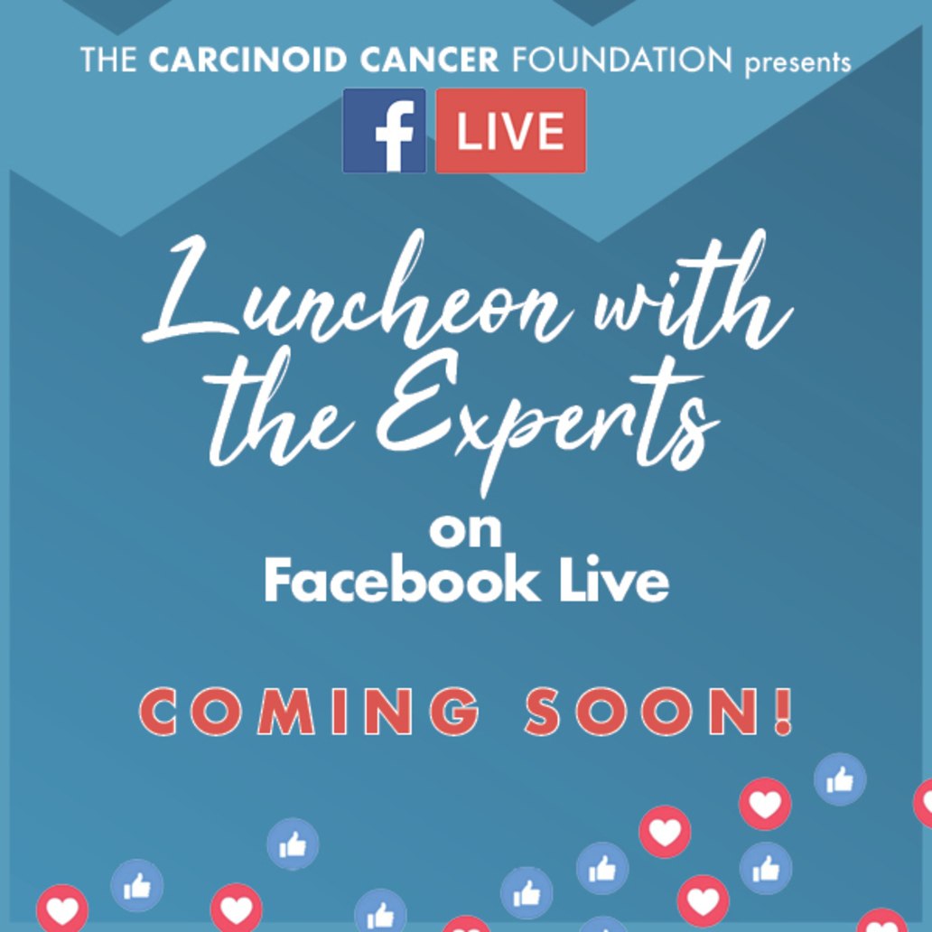 Luncheon with the Experts on Facebook Live