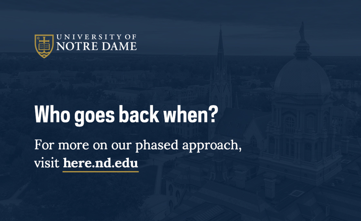Who goes back when? Click for our phased approach.