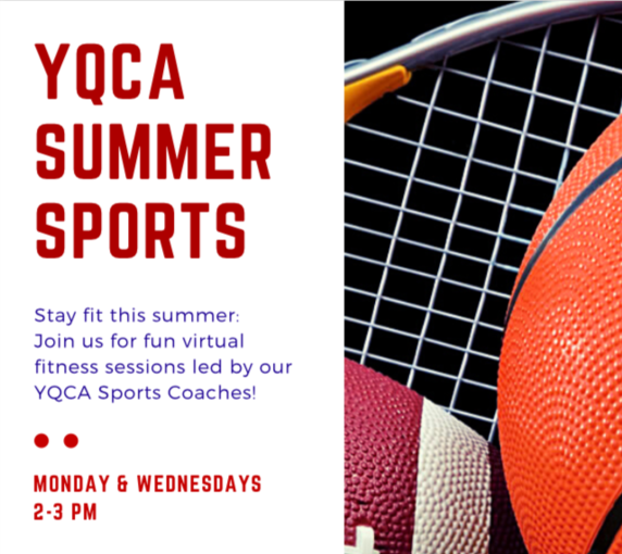 Connect with Netter through Summer Sports! Join the Young Quaker fitness sessions on Mondays and Wednesdays from 2-3pm using this link
