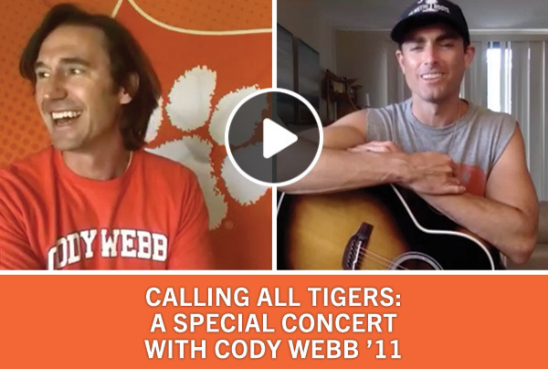 Calling All Tigers: A Special Concert with Cody Webb '11