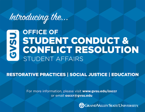 Introducing the Office of Student Conduct & Conflict Resolution, restorative practices, social justice, education