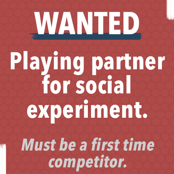 Wanted: Playing Partner