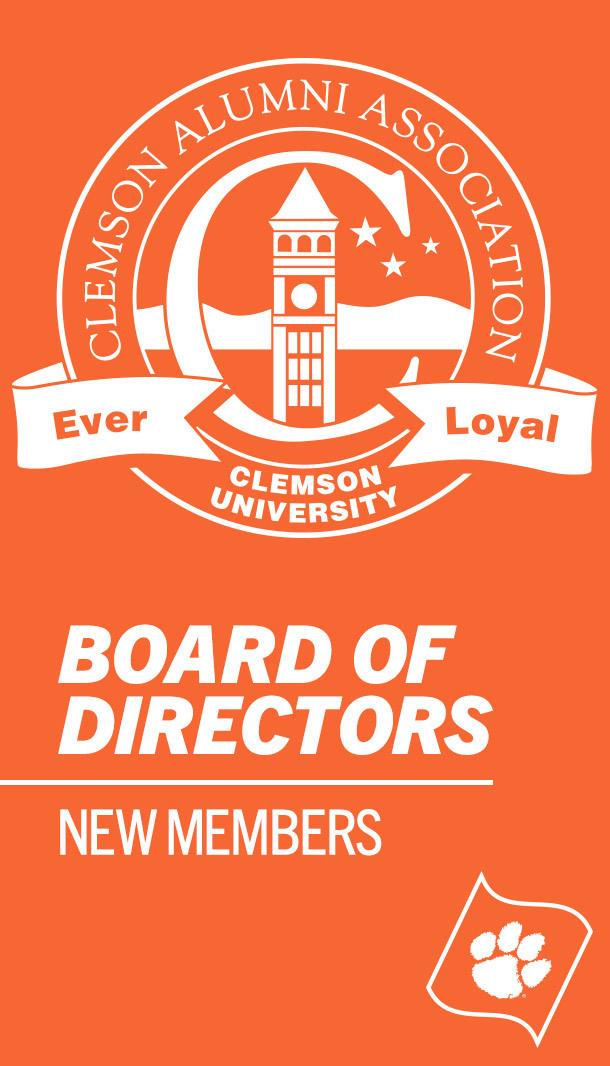 Clemson Alumni Association Board of Directors adds new members