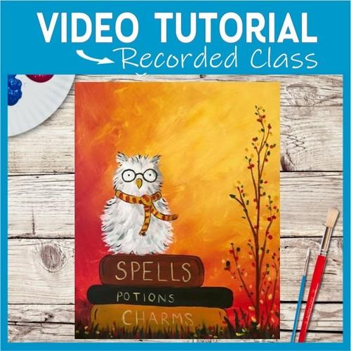 Spellbound Scholar Owl