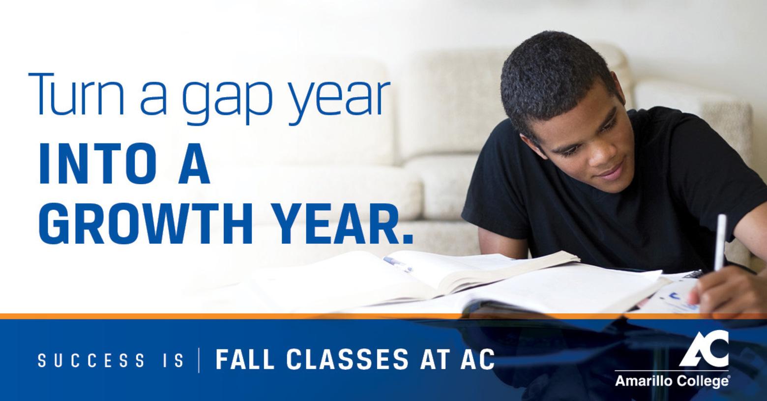 Turn a gap year into a growth year