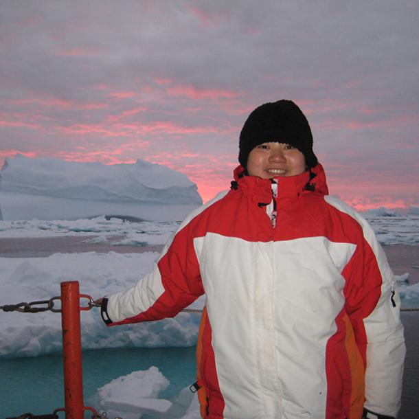 Meet Yina Liu, New Oceanography Assistant Professor