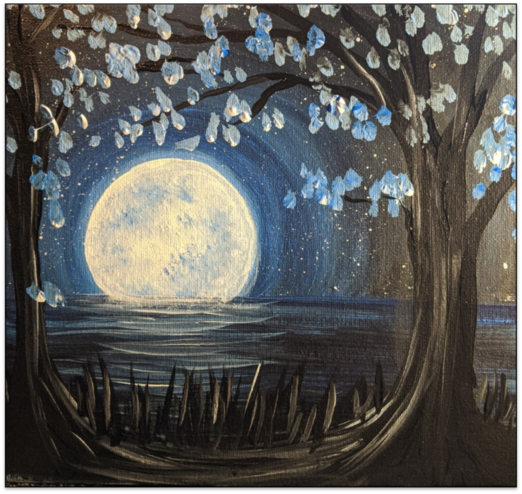 Moon Rise Lake