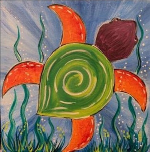 Sassy Sea Turtle