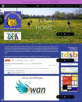 Website and Art Gallery