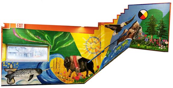 Welcomer Mural