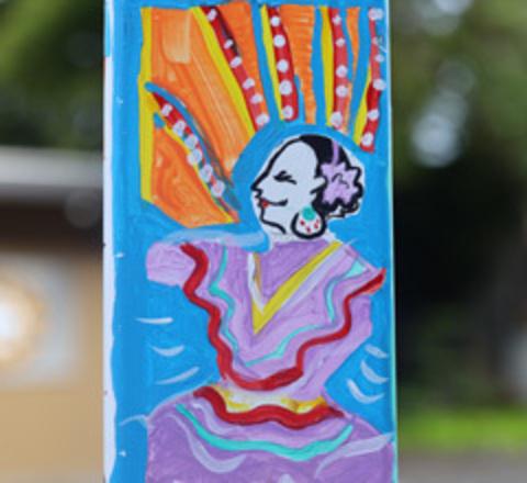 Gresham Arts Festival Art Pole
