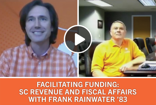 Facilitating Funding SC Revenue and Fiscal Affairs with Frank Rainwater '83