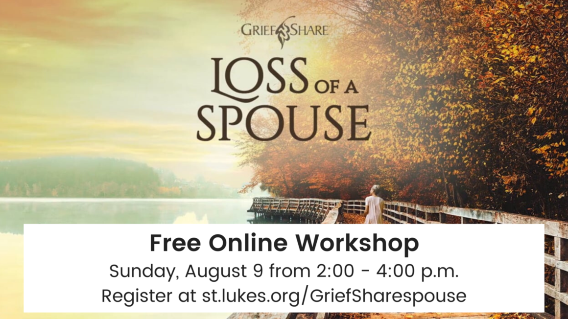 Loss of a Spouse Arena registration page