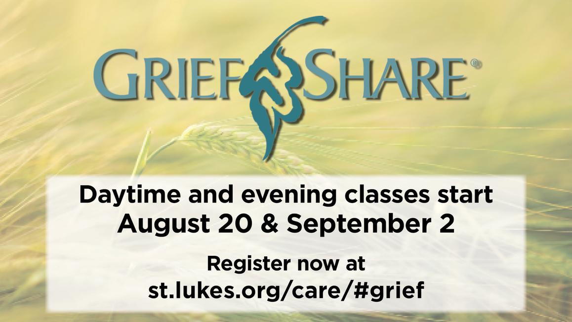 GriefShare classes registration