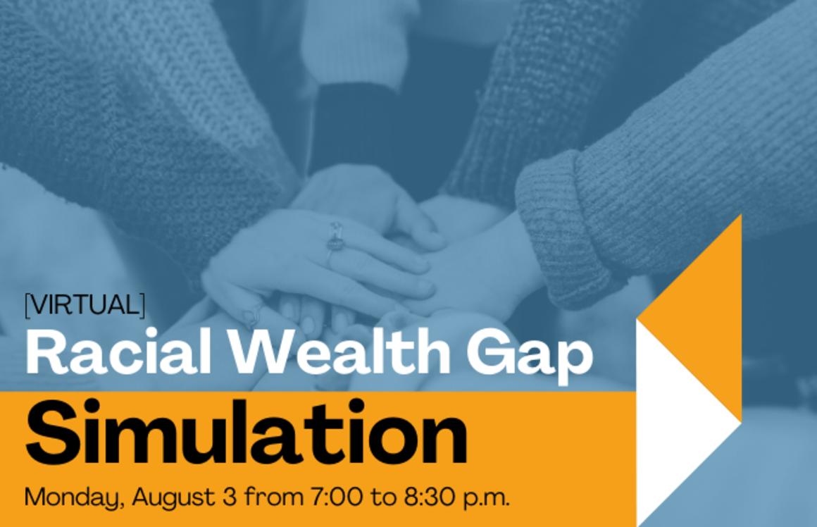Wealth Gap Simulation Registration page