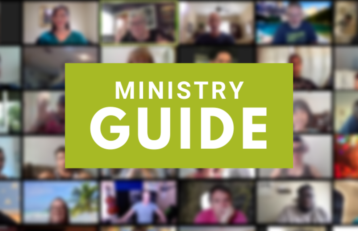 Ministry Guide webpage