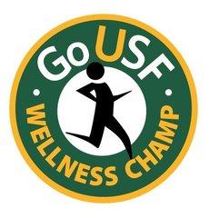 GoUSF Wellness Champ logo