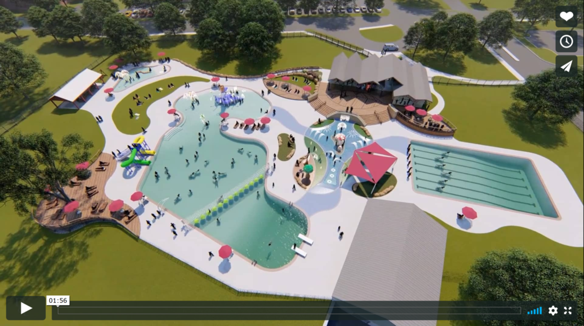 Lititz Springs pool complex concept video