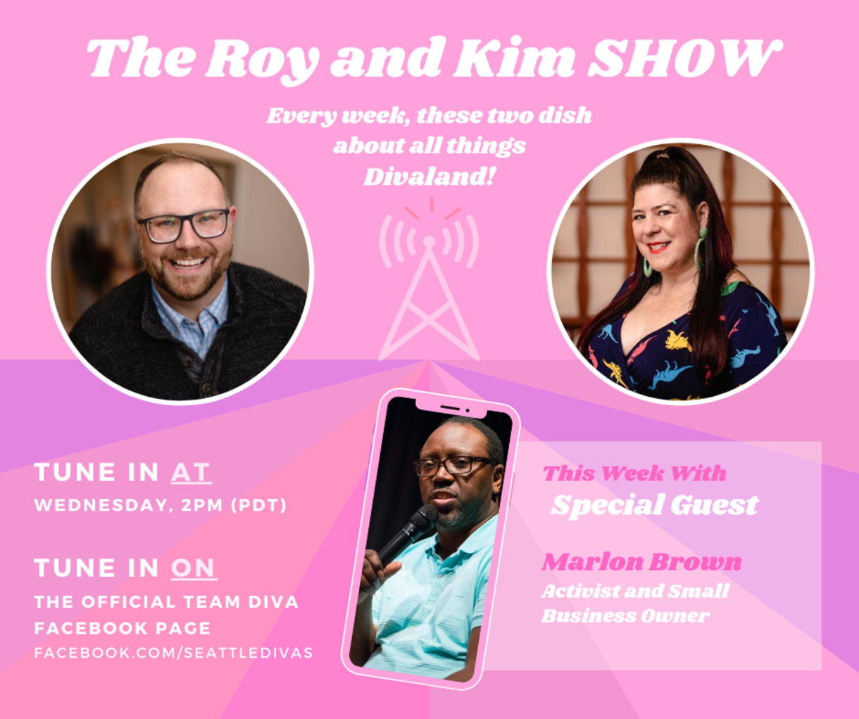 Roy and Kim Show with Marlon Brown