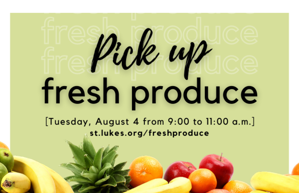 Fresh Produce event page