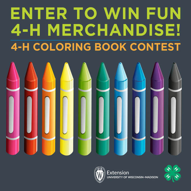 4-H Coloring page Contest