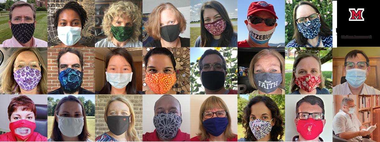 MUDEC Global Initiatives + MUDEC Staff and their masks