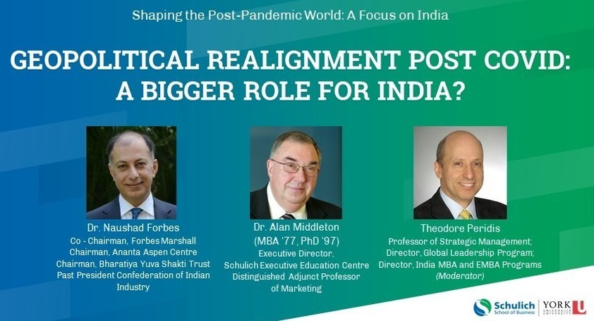 Geopolitical realignment post COVID: A bigger role for India?