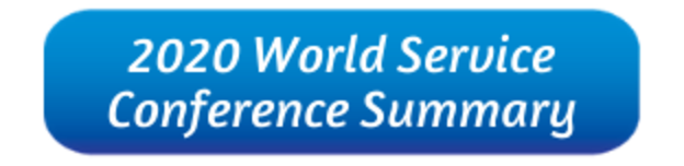 2020 World Service Conference Summary