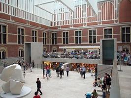 the Atrium at the Rijksmuseum