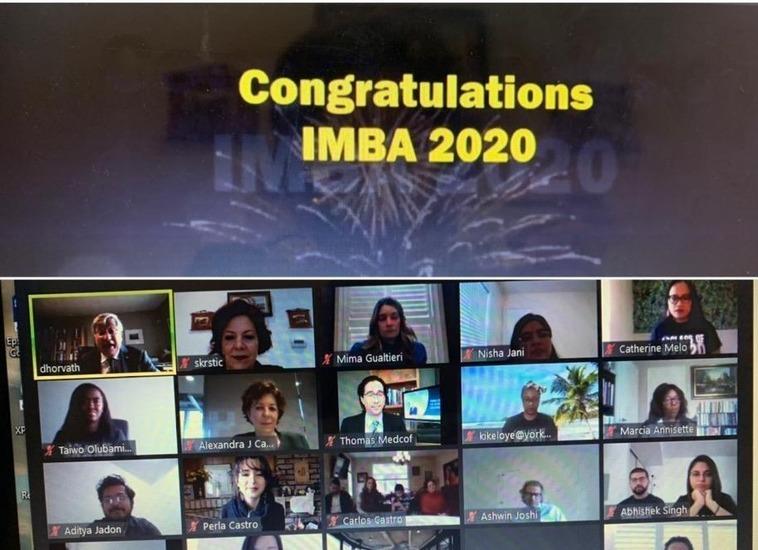 Congratulations IMBA 2020