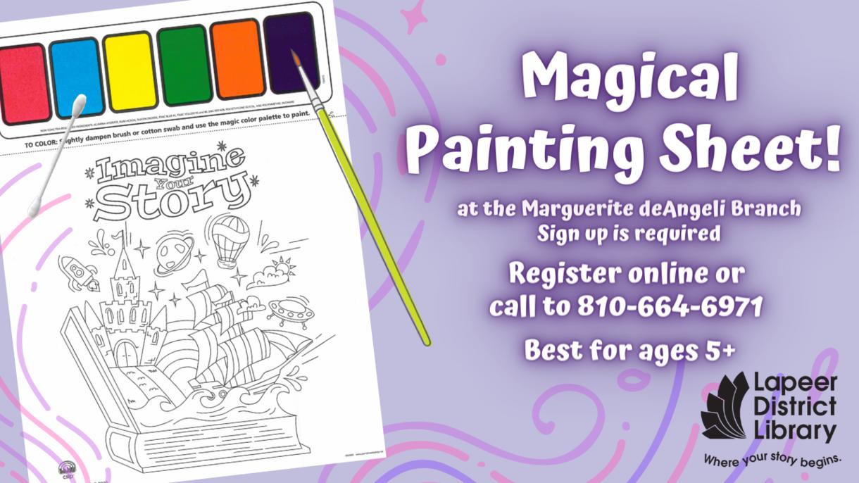 Magical Painting Sheets