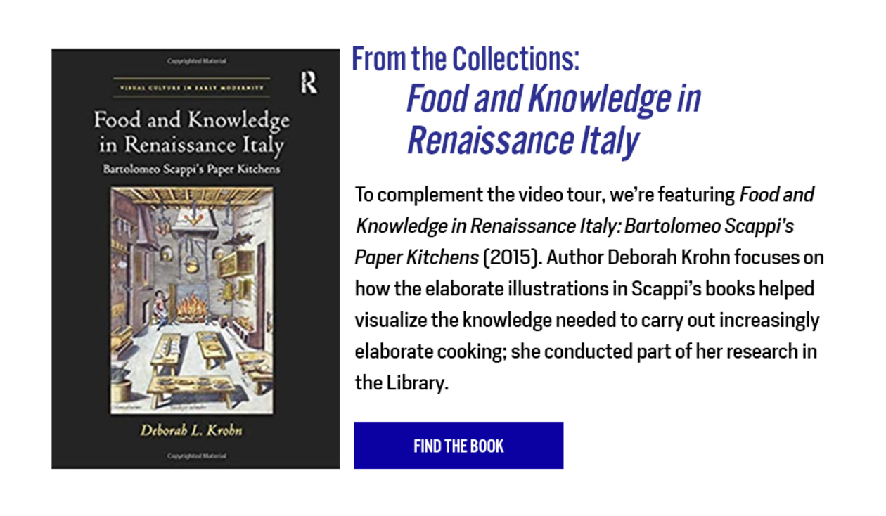 From the Collections: Food and Knowledge in Renaissance Italy