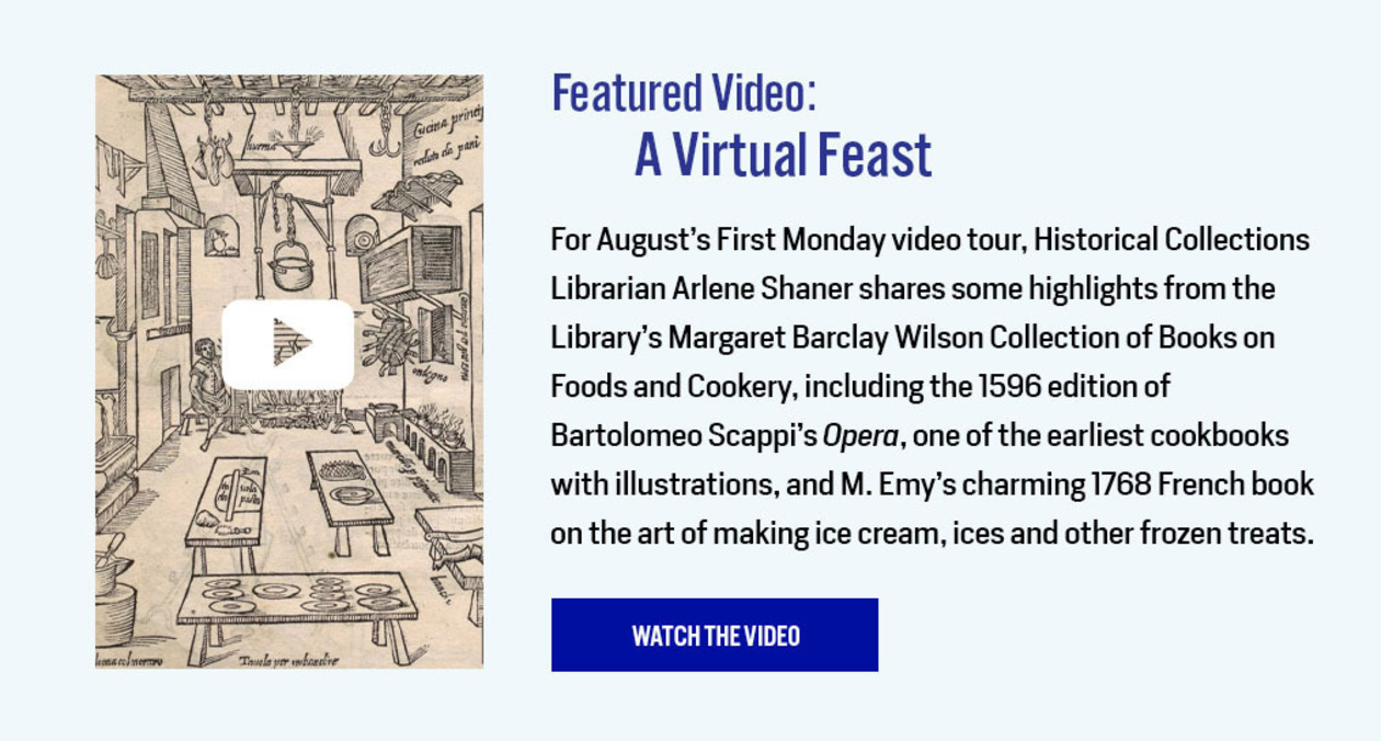Featured Video: A Virtual Feast